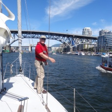 The real skipper!