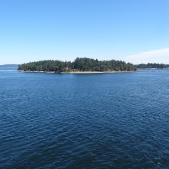 Beautiful ferry ride to Vancouver Island